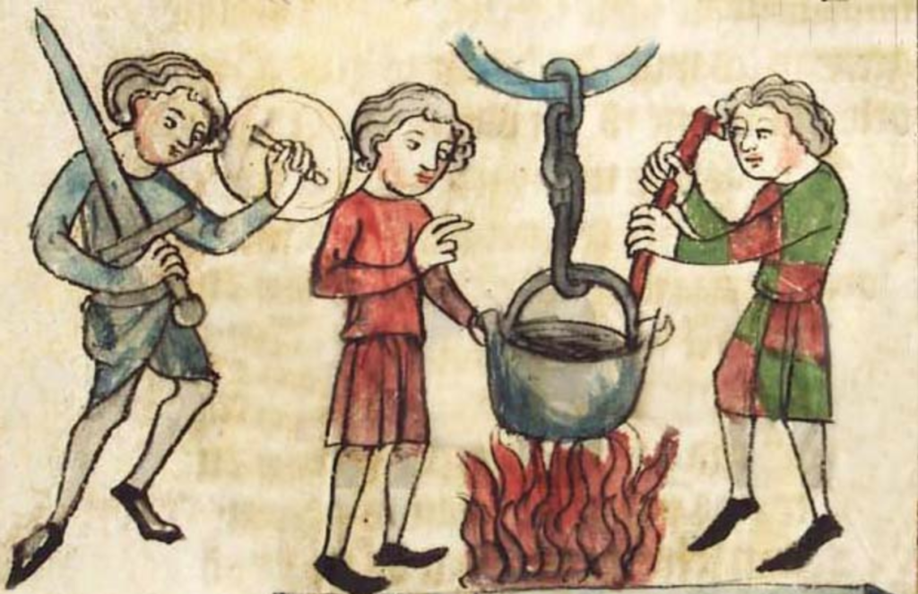 испытание огнем в детекции лжи в древности
